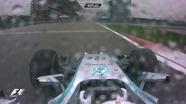 Chinese Grand Prix: Watch Lewis Hamilton's pole lap