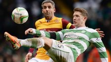 Motherwell take on champions Celtic