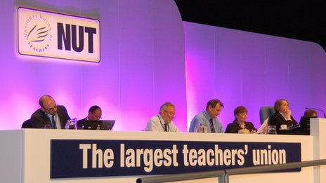 The NUT conference in Brighton