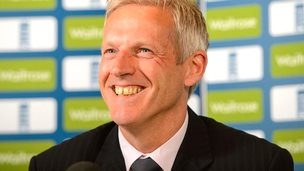 Peter Moores is re-appointed as England coach