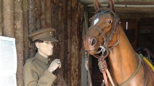 The museum focuses on War Horse