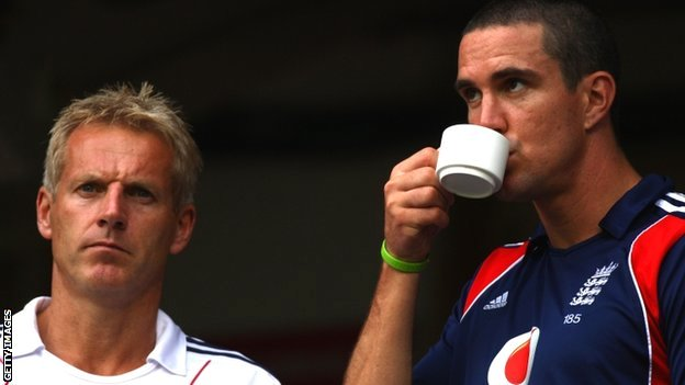 Peter Moores and Kevin Pietersen