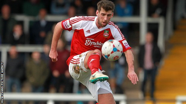 Wrexham's Mark Carrington