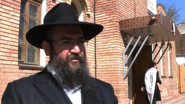 Donetsk Rabbi Pinkhas Vyshedsky