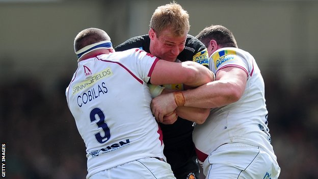 Sale thwart a rare Exeter attack at Sandy Park