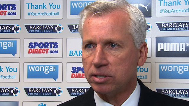 Newcastle manager Alan Pardew believes he could have 'influenced' goal