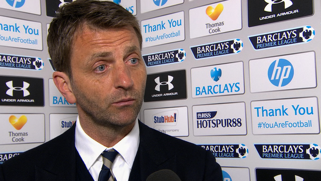 Tottenham 3-1 Fulham Tim Sherwood takes credit for Harry Kane rise