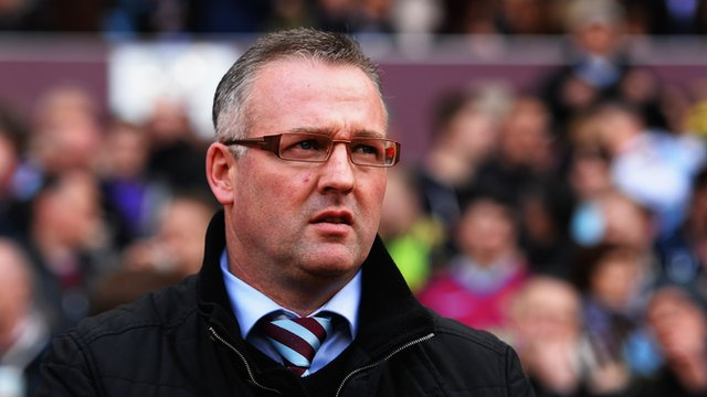 "Aston Villa 0-0 Southampton: Paul Lambert on ""massive"" point"