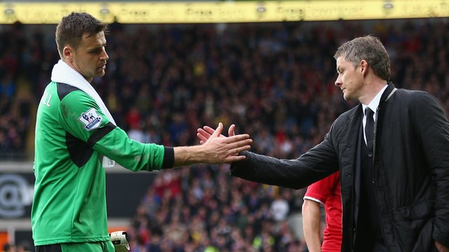 Cardiff 1-1 Stoke: Ole Gunnar Solskjaer says David Marshall saved his season