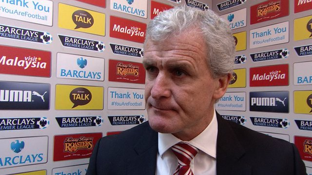 Cardiff 1-1 Stoke: Mark Hughes says penalty against his side was soft