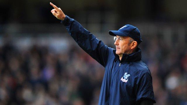 West Ham 0-1 Crystal Palace: Tony Pulis pride at run