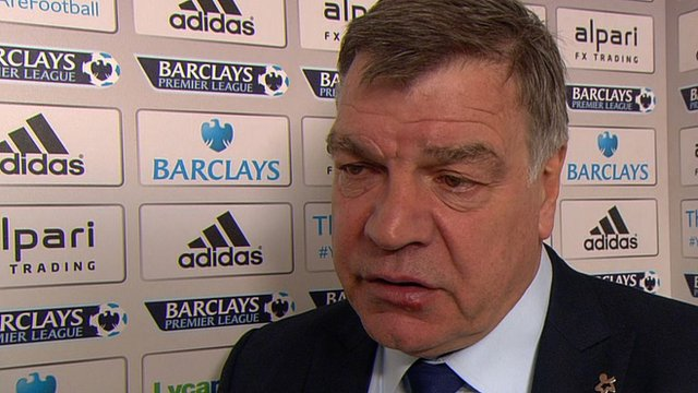 "Sam Allardyce says West Ham were ""frustrated"" by Crystal Palace"