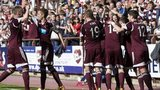 Hearts were 2-0 winners at Tynecastle
