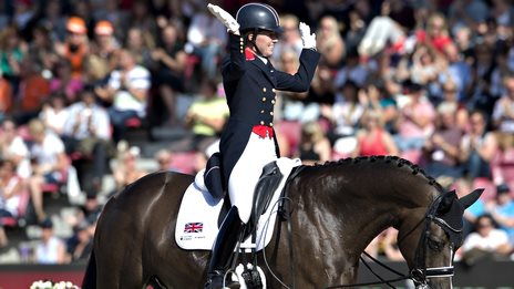 Charlotte Dujardin on Valegro