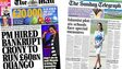 Composite image of Mail on Sunday and Independent on Sunday front pages
