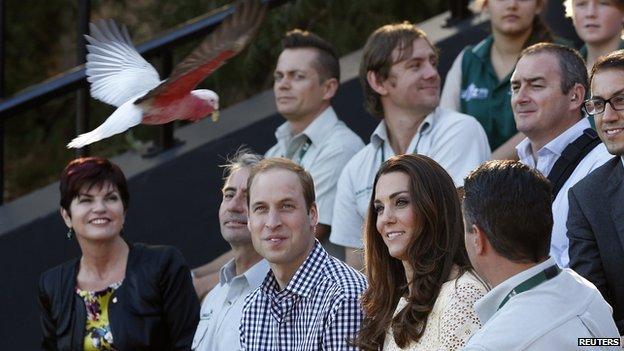 Royal visit to Taronga Zoo