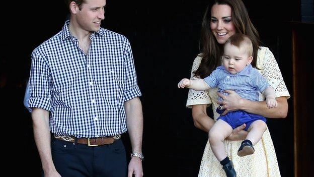 Royals visit Taronga Zoo