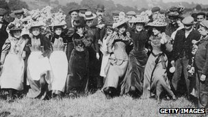 Women on Hampstead Heath