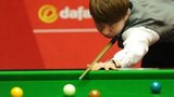 Xiao Guodong during his first round match at the World Snooker Championship 2014