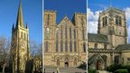 Wakefield, Ripon and Bradford Cathedrals