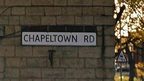 Chapeltown Road sign