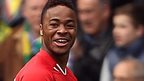 Liverpool forward Raheem Sterling