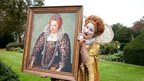 Horrible Histories picture of Queen Elizabeth I