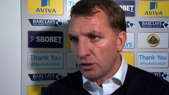 "Brendan Rodgers says Liverpool's run of wins is ""incredible"""