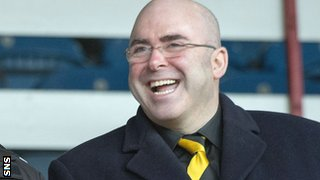Alloa chairman Mike Mulraney