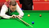 Shaun Murphy during his first round match against Jamie Cope