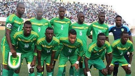Mauritania team