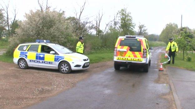 Police in Wyverstone