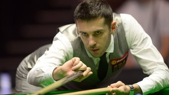 Mark Selby in action in the 2014 Masters