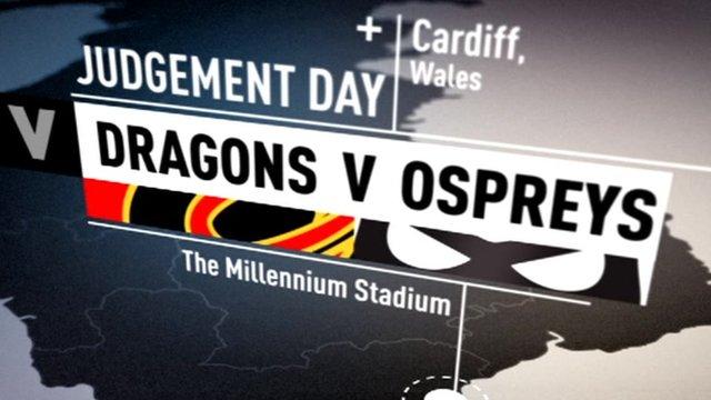 Highlights: NG Dragons v Ospreys