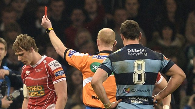 Scrum V: Ref was right to send players off says Jonathan Davies