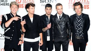 One Direction might feature in the top 100 music downloads