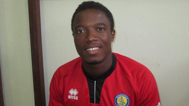 AC Bongoville's Sylvain Azougoui