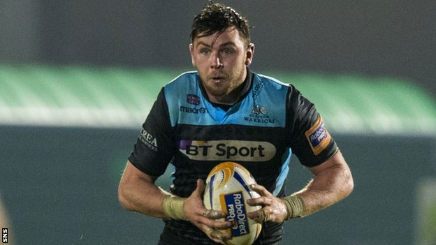 Glasgow Warriors forward Ryan Wilson