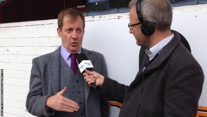 Alastair Campbell and Jonathan Overend