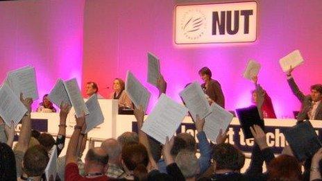 Strike vote at NUT