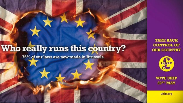 """UKIP """"who really runs this country poster"""""""