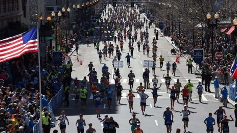 Boston Marathoners