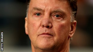 Dutch boss Van Gaal has managed Barcelona and Bayern Munich at club level