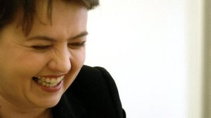 Ruth Davidson, Scottish Tory leader