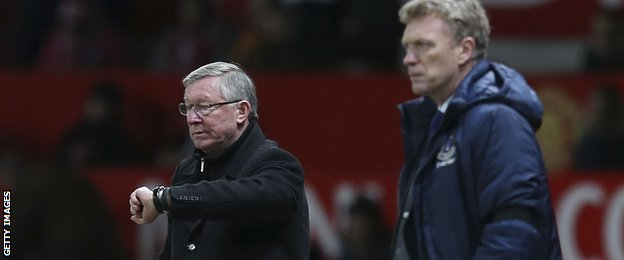 Ferguson anointed Moyes as his successor, but time is now up for the Manchester United manager
