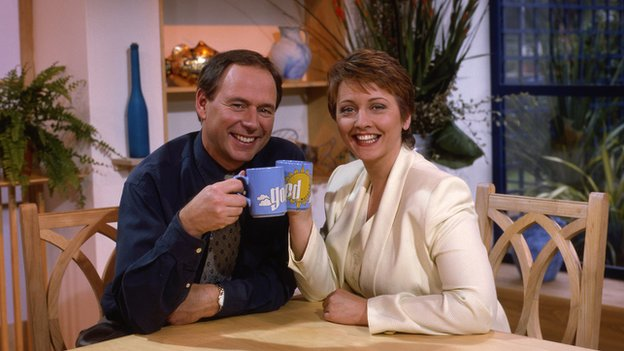 Nick Owen and Anne Diamond on Good Morning with Anne and Nick