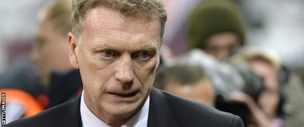 Moyes looked increasingly haunted as United's season went from bad to worse