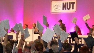 Strike vote at NUT