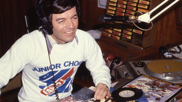 Tony Blackburn on Radio 1