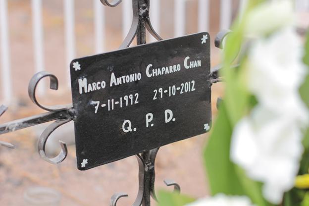 Marco Antonio grave